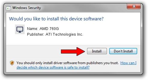 ATI Technologies Inc. AMD 760G driver download 623098