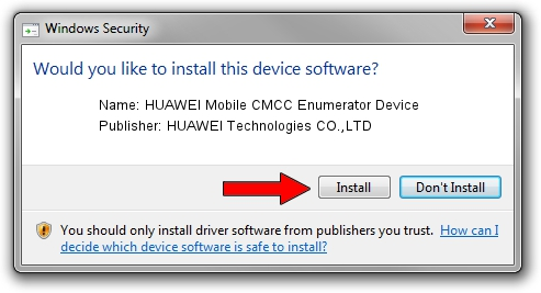 HUAWEI Technologies CO.,LTD HUAWEI Mobile CMCC Enumerator Device driver installation 17954