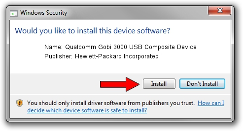 Hewlett-Packard Incorporated Qualcomm Gobi 3000 USB Composite Device setup file 25950