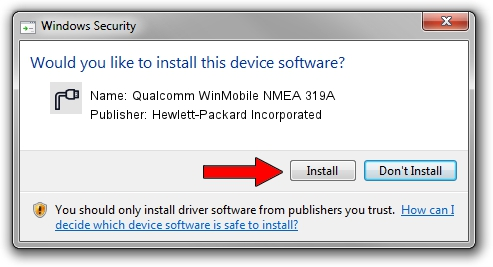 Hewlett-Packard Incorporated Qualcomm WinMobile NMEA 319A driver download 42380