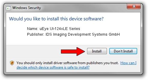 IDS Imaging Development Systems GmbH uEye UI-124xLE Series driver installation 19256