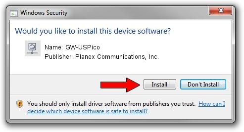 Planex Communications, Inc. GW-USPico setup file 619839
