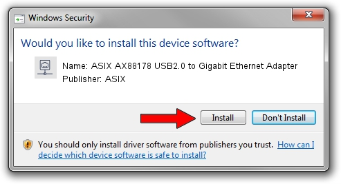 ASIX AX88178 USB2.0 TO GIGABIT ETHERNET ADAPTER WINDOWS 8 X64 TREIBER
