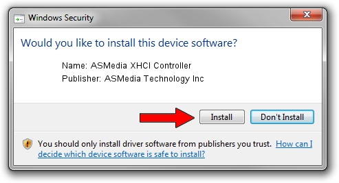 ASMedia Technology Inc ASMedia XHCI Controller driver download 1405044