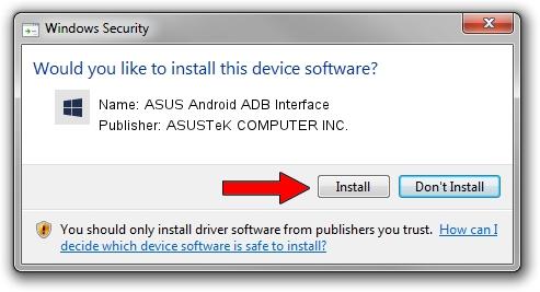 ASUSTeK COMPUTER INC. ASUS Android ADB Interface driver download 1156663