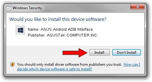 ASUSTeK COMPUTER INC. ASUS Android ADB Interface driver download 1156674