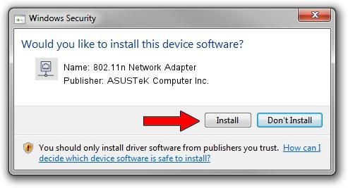 ASUSTeK Computer Inc. 802.11n Network Adapter driver installation 1395611