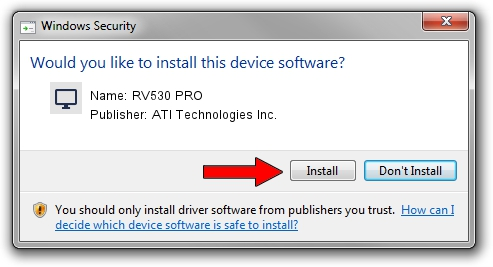 ATI Technologies Inc. RV530 PRO driver download 1413385