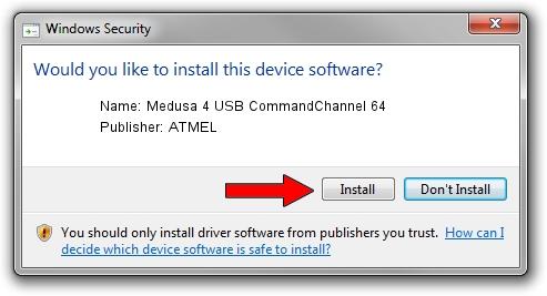 ATMEL Medusa 4 USB CommandChannel 64 setup file 2012755