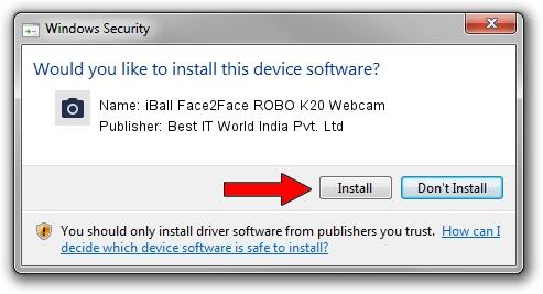 Best IT World India Pvt. Ltd iBall Face2Face ROBO K20 Webcam driver installation 507059