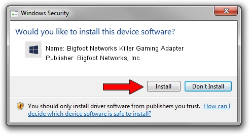Bigfoot Networks, Inc. Bigfoot Networks Killer Gaming Adapter driver installation 2014510