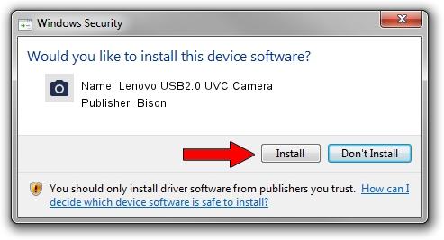 Bison Lenovo USB2.0 UVC Camera driver download 610106