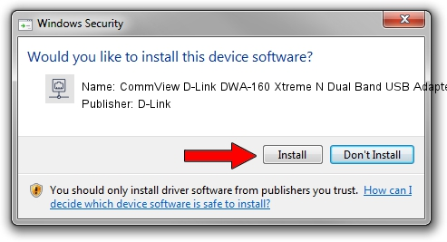 D-Link CommView D-Link DWA-160 Xtreme N Dual Band USB Adapter rev.A driver download 1402471