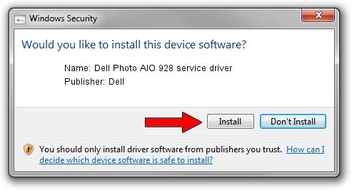 Dell Dell Photo AIO 928 service driver setup file 2011491