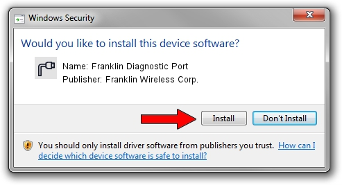 Franklin Wireless Corp. Franklin Diagnostic Port driver download 1411450