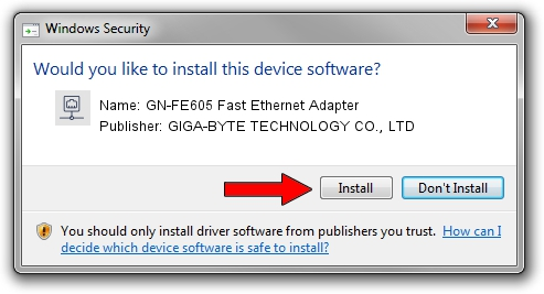 GN-FE605 FAST ETHERNET ADAPTER WINDOWS 8 DRIVER DOWNLOAD