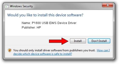 P1600 USB EWS DEVICE WINDOWS DRIVER