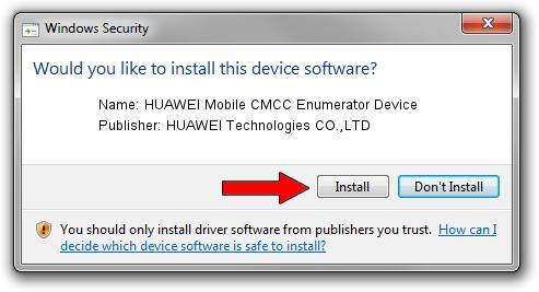 HUAWEI Technologies CO.,LTD HUAWEI Mobile CMCC Enumerator Device setup file 1712135