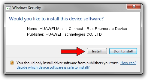 huawei mobile connect - bus enumerate device
