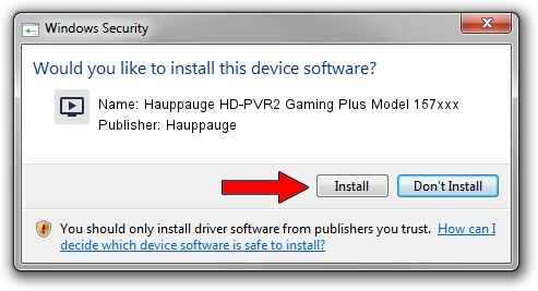 Hauppauge Hauppauge HD-PVR2 Gaming Plus Model 157xxx driver download 2093598