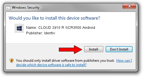 Identiv CLOUD 2910 R SCR3500 Android driver installation 54697