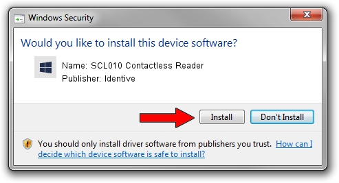 Identive SCL010 Contactless Reader setup file 892849