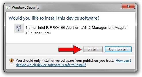 Intel Intel R PRO/100 Alert on LAN 2 Management Adapter driver installation 1055608