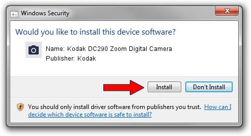 Kodak Kodak DC290 Zoom Digital Camera driver download 1419028