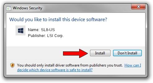 LSI Corp. SL8-US setup file 245016