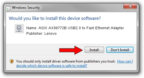 AX88772B LENOVO DRIVERS FOR WINDOWS VISTA