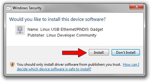 Linux Developer Community Linux USB Ethernet/RNDIS Gadget setup file 586492