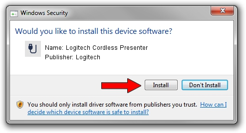Logitech Logitech Cordless Presenter setup file 1428397