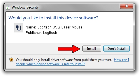 Logitech Logitech USB Laser Mouse setup file 46555