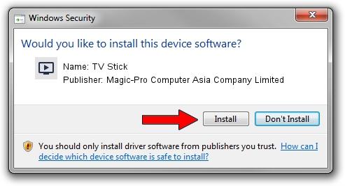 Magic-Pro Computer Asia Company Limited TV Stick setup file 1638244