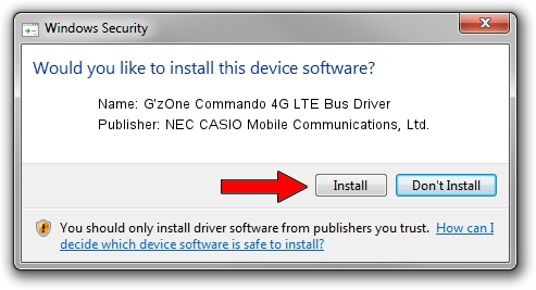 NEC CASIO Mobile Communications, Ltd. G'zOne Commando 4G LTE Bus Driver driver download 1435145
