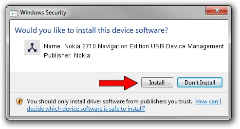Nokia Nokia 2710 Navigation Edition USB Device Management setup file 1380424