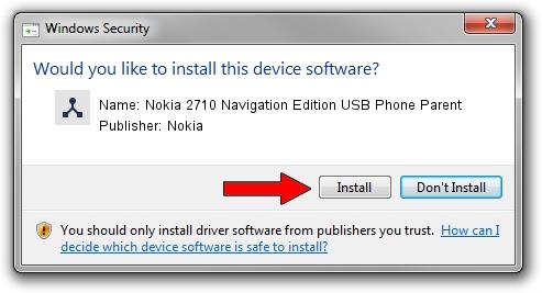 Nokia Nokia 2710 Navigation Edition USB Phone Parent setup file 1445626