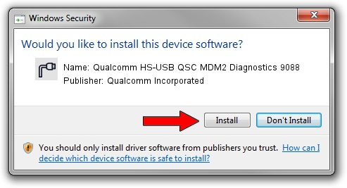 Qualcomm Incorporated Qualcomm HS-USB QSC MDM2 Diagnostics 9088 driver download 1426207