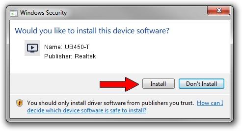 Realtek UB450-T driver installation 1504328