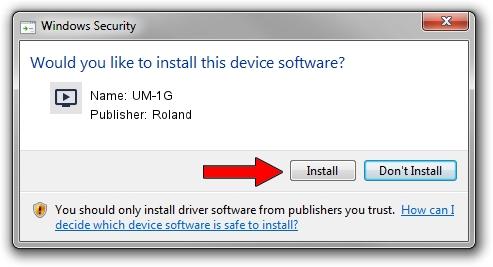 Roland UM-1G driver download 2097475