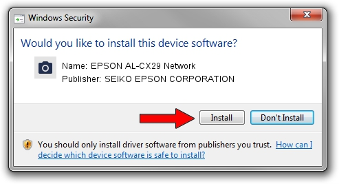 SEIKO EPSON CORPORATION EPSON AL-CX29 Network driver download 47562