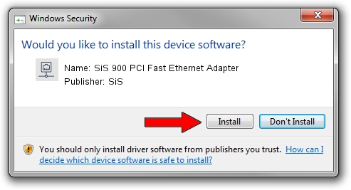 download driver sis 900 fast ethernet adapter
