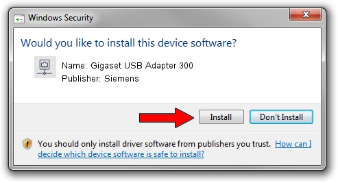 Siemens Gigaset USB Adapter 300 setup file 984380