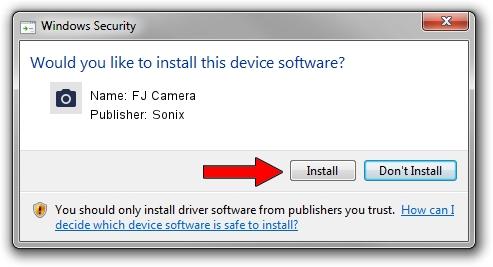 Sonix FJ Camera driver installation 420107