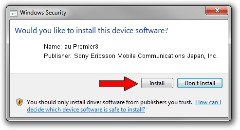 Sony Ericsson Mobile Communications Japan, Inc. au Premier3 setup file 1380289