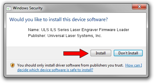 Download and install Universal Laser Systems, Inc  ULS ILS