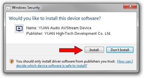 YUAN High-Tech Development Co. Ltd. YUAN Audio AVStream Device setup file 1390666